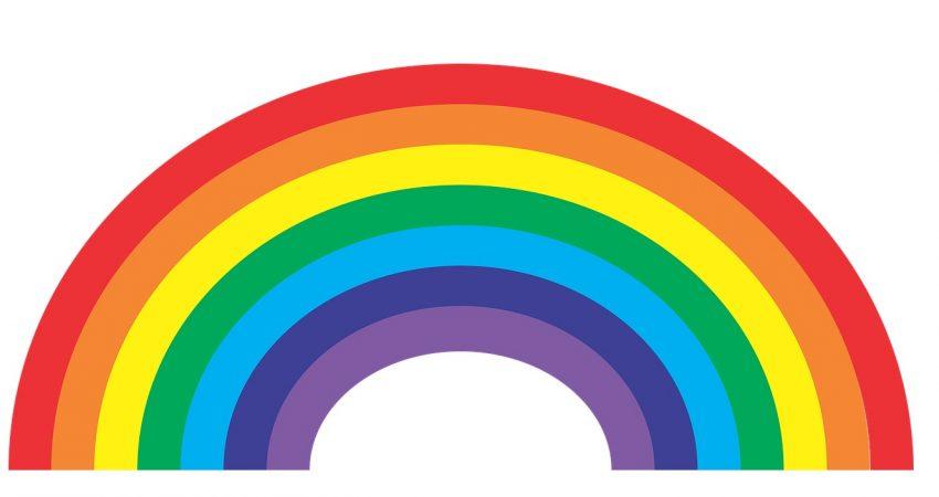arcoiris casero